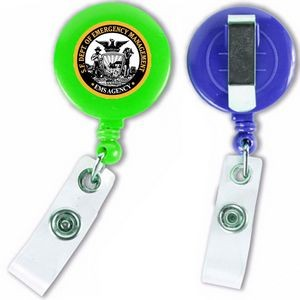 Retractable Badge Reel Holder